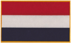 Holland Netherlands Flag Patch