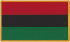 Pan-African Flag Patch