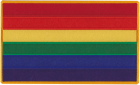 Rainbow Gay Pride Flag Patch