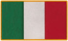 Italy Italian Flag Patch
