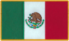 Mexico Mexican Flag Patch