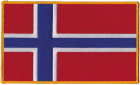 Norway Norwegian Flag Patch