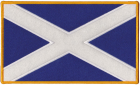 Scotland Scottish Flag Patch
