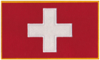 Switzerland Swiss Flag Patch