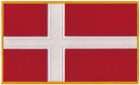 Denmark Danish Flag Patch