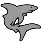 PM437 Shark Patch