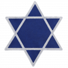 PM442 STAR OF DAVID PATCH