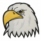 PA321 EAGLE HEAD PATCH