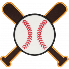 PS107 BASEBALL BATS PATCH