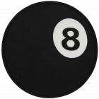 PS125 EIGHT BALL PATCH