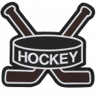 PS134 ICE HOCKEY STICKS PATCH