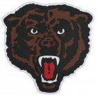 PM418 BEAR HEAD PATCH