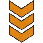 PA306-3 CHEVRON PATCH