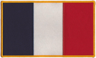 France French Flag Patch