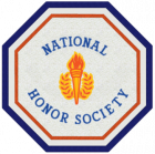 National Honors Society Patch