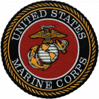 PA334 MARINES PATCH